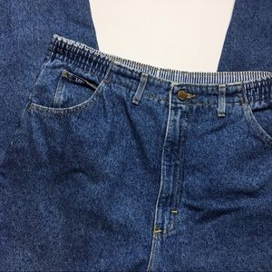 Vintage Lee Medium Wash Mom Jeans, 16